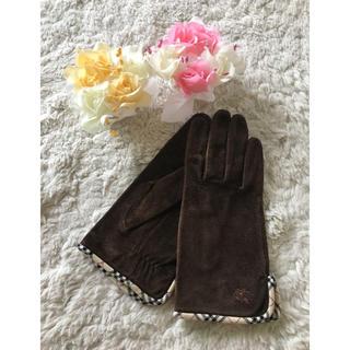 バーバリー(BURBERRY)のこれからの季節に♪バーバリー手袋(手袋)