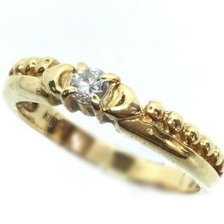 トクトクジュエリー ダイヤモンド K18 リング(リング(指輪))