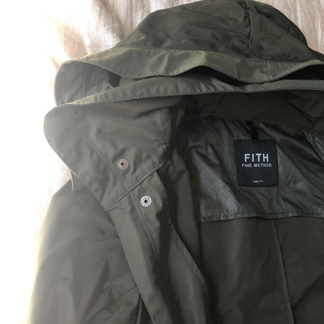 FITH(フィス)のfith マウンテンパーカー キッズ/ベビー/マタニティのキッズ服 男の子用(90cm~)(ジャケット/上着)の商品写真