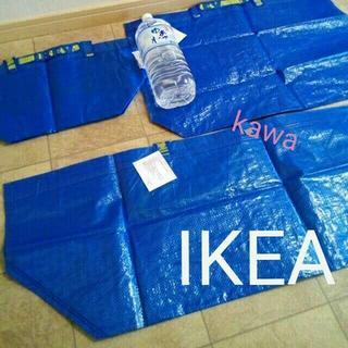 IKEA - IKEAフラクタ ブルーバッグ ショッピングバックS, M ,L3枚セット