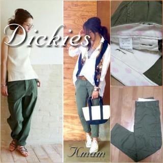 ディッキーズ(Dickies)の【Dickies】 新品未使用  カーゴパンツ  カーキ   S(ワークパンツ/カーゴパンツ)