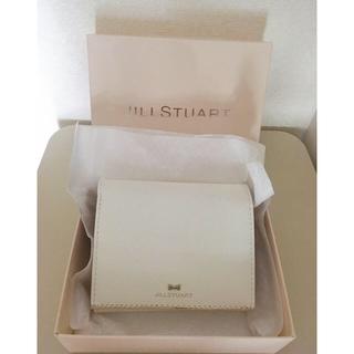 ジルスチュアート(JILLSTUART)の折財布 ホワイト(折り財布)