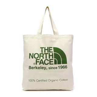 ザノースフェイス(THE NORTH FACE)のノースフェイス コットン トートバッグ THE NORTH FACE 緑 新品(トートバッグ)