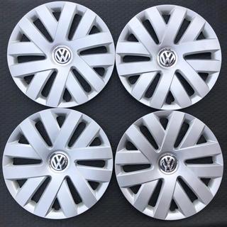 フォルクスワーゲン(Volkswagen)の美品◆フォルクスワーゲン 6R系ポロ 純正15インチ ホイールキャップ4枚セット(ホイール)