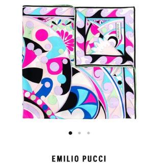 エミリオプッチ(EMILIO PUCCI)のEMILIO PUCCIシルクスカーフ ☆正規品新品☆(バンダナ/スカーフ)