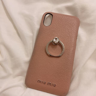 ミュウミュウ(miumiu)のmiumiu iPhoneケース(iPhoneケース)