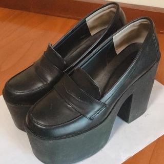 ウィゴー(WEGO)の厚底パンプス 厚底ローファー(ローファー/革靴)