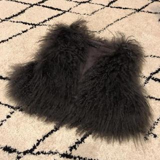 ローズバッド(ROSE BUD)のラムファーベスト(毛皮/ファーコート)