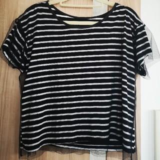 ミスティック(mystic)のmystic ボーダーTシャツ(Tシャツ(半袖/袖なし))