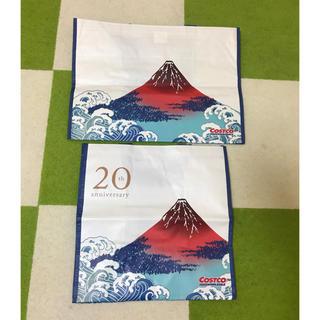 コストコ(コストコ)のコストコ ショッピングバッグ 富士山 大小セット (エコバッグ)