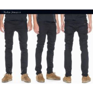 ヌーディジーンズ(Nudie Jeans)のNudie Jeans【Thin Finn Dry Ever Black】(デニム/ジーンズ)