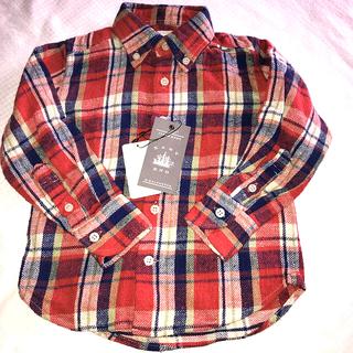 EAST END  HIGHLANDERSチェックシャツ(Tシャツ/カットソー)