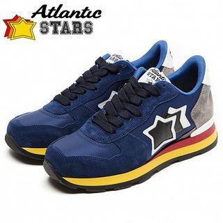131 Atlantic STARS 19aw ANTARESネイビーブルー40(スニーカー)