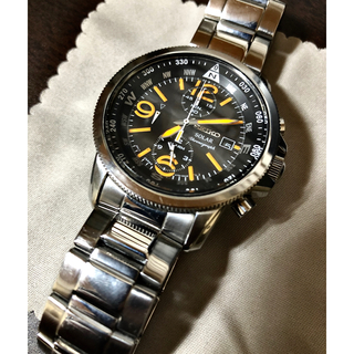 セイコー(SEIKO)のセイコー プロスペックス パイロット クロノグラフソーラー v172(腕時計(アナログ))