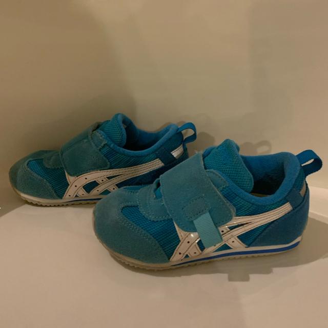 asics(アシックス)のアシックス  15.5cm キッズ/ベビー/マタニティのキッズ靴/シューズ (15cm~)(スニーカー)の商品写真