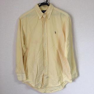 POLO RALPH LAUREN - RALPH LAUREN 長袖シャツ 黄色 M