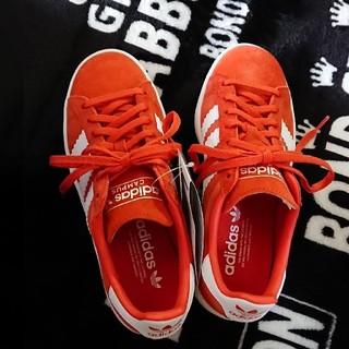 アディダス(adidas)のアディダス adidas  23cm オレンジ campusW スニーカー(スニーカー)