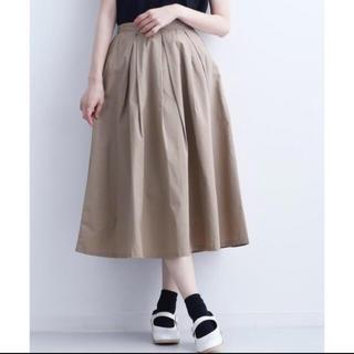 メルロー(merlot)のmerlot スカート(ひざ丈スカート)