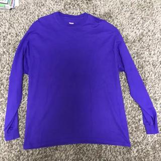 ヘインズ(Hanes)のHanes BEFFY ヘインズ ビーフィー ロンT 長袖 Tシャツ XL(Tシャツ/カットソー(七分/長袖))