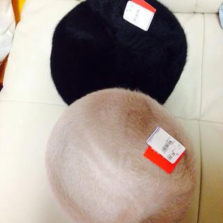 マリクレール(Marie Claire)の新品  マリクレール  ベレー帽セット(ハンチング/ベレー帽)