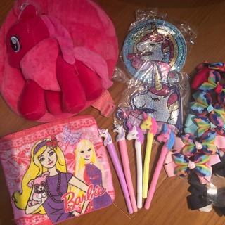 バービー(Barbie)のかわいい キッズ ポニー リュック プリンセス バービー(リュックサック)