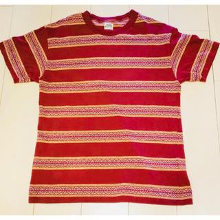 テンダーロイン(TENDERLOIN)のTENDERLOIN 半袖 Tシャツ ジャガード バーガンディー ゴローズ  (Tシャツ/カットソー(半袖/袖なし))