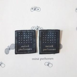 ミナペルホネン(mina perhonen)のミナペルホネン  タグ2枚セット(各種パーツ)