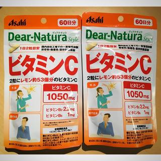 アサヒ - ディアナチュラ ビタミンC 60日分 2袋