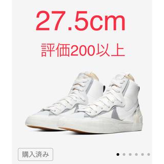 サカイ(sacai)のNIKE sacai blazer 27.5 サカイ ナイキ (スニーカー)