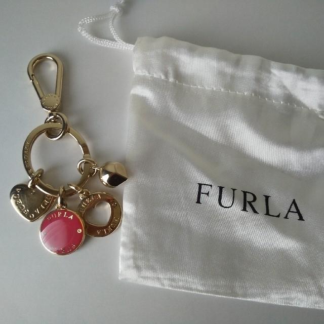 Furla(フルラ)の【FURLA】キーリング バッグチャーム レディースのファッション小物(キーホルダー)の商品写真