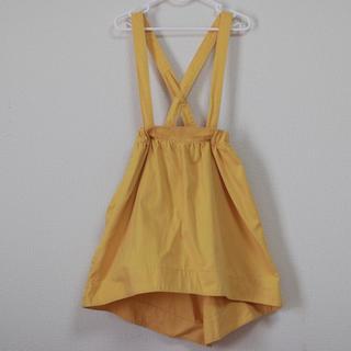 ジーユー(GU)のgu 110cm サロペットスカート ジーユー(スカート)