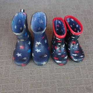 ダブルビー(DOUBLE.B)のミキハウス ダブルB 長靴 13,15センチ(長靴/レインシューズ)