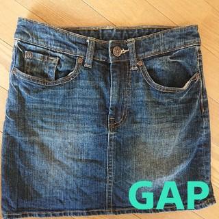ギャップ(GAP)の中古GAP☆デニムスカート☆(ひざ丈スカート)