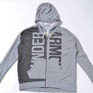 アンダーアーマー(UNDER ARMOUR)の◇UNDER ARMOR◇sizeMD zipup hoodie(パーカー)