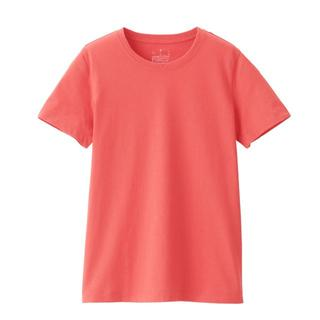ムジルシリョウヒン(MUJI (無印良品))の無印良品 インド綿 天竺編み クルーネック 半袖 Tシャツ M MUJI(Tシャツ(半袖/袖なし))