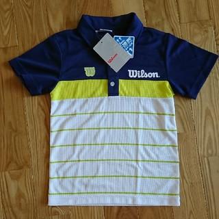 wilson - 新品Wilson 130cm テニスウェア ポロシャツ