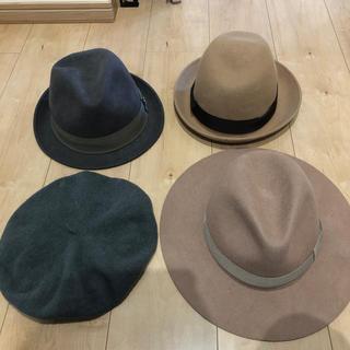 ケービーエフ(KBF)の帽子 ベレー帽 ハット 4点セット(ハット)