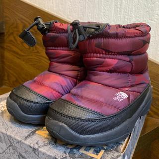 ザノースフェイス(THE NORTH FACE)のTHE NORTH FACE  スノーブーツ  16cm(ブーツ)
