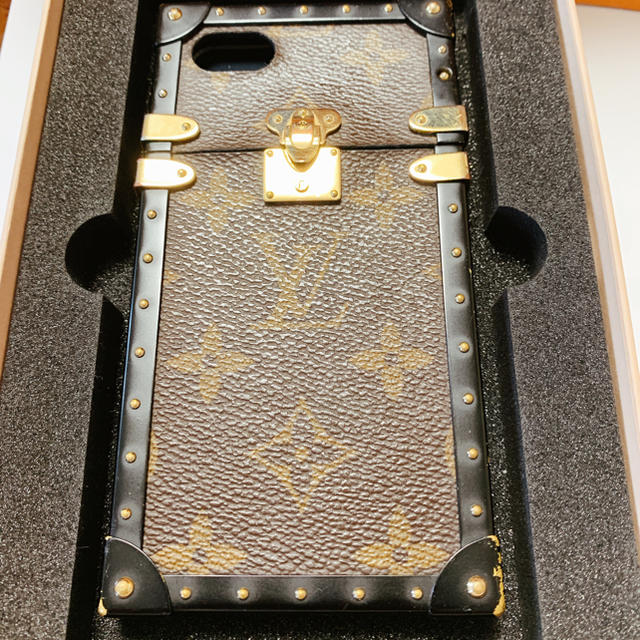 iphone 8 ケース カーボン | LOUIS VUITTON - iPhone7 8 ルイヴィトン スマホ ケースの通販