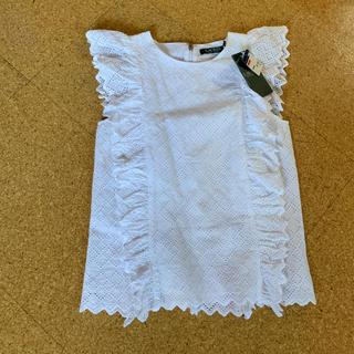 Ralph Lauren - 新品、タグ付き ラルフ白フリルシャツ