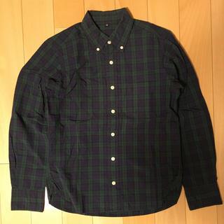 MUJI (無印良品) - 無印良品 チェックシャツ XS