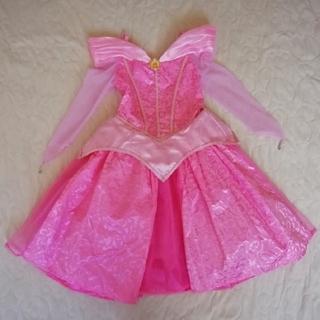 オーロラ姫 - 海外ディズニーランド 眠れる森の美女オーロラ姫ドレス S