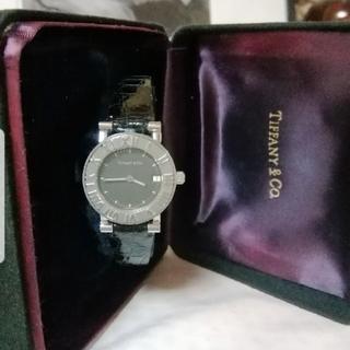 ティファニー(Tiffany & Co.)のTiffany & Co アトラス デイト付き 腕時計(腕時計)