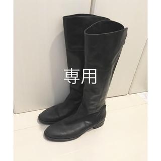 イエナスローブ(IENA SLOBE)のACCADEMIA バックジップブーツ(ブーツ)