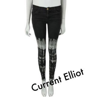 カレントエリオット(Current Elliott)の未使用☆ Current Elliot Jeans Tie Dye 27(デニム/ジーンズ)