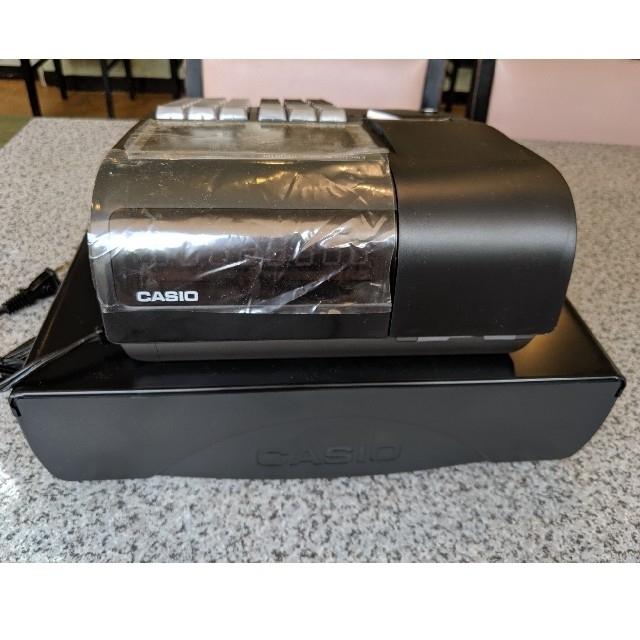 CASIO(カシオ)のCASIO 電子レジスター インテリア/住まい/日用品のオフィス用品(店舗用品)の商品写真
