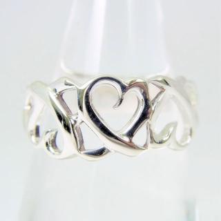 ティファニー(Tiffany & Co.)のティファニー 925 トリプルラビングハート リング 14号[f62-3](リング(指輪))
