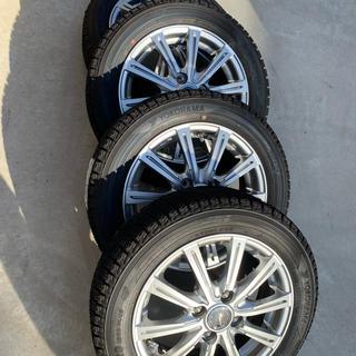 送料込み!新品・未使用!スタッドレスタイヤ ホイール付セット 155/65R14(タイヤ・ホイールセット)