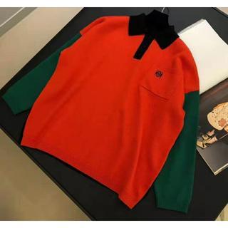 ロエベ(LOEWE)のLOEWE Poloneck Sweater マルチカラー (ニット/セーター)