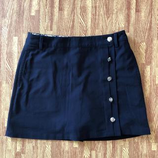 キャロウェイ(Callaway)のゴルフスカート キャロウェイ インナーパンツ一体型 (ミニスカート)